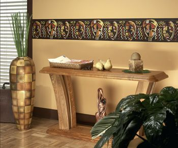 Pics Of Afrocentric Decor | Itu0027s A Black Thang.com   African American Home  Decorating   Wall Paper