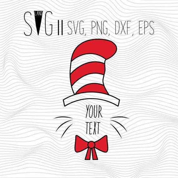 Cat in the Hat Svg Dr. Seuss Svg File Dr Seuss Svg by SVGland ...