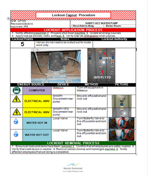 We Have Developed Our Own Lockout Tagout Software Program