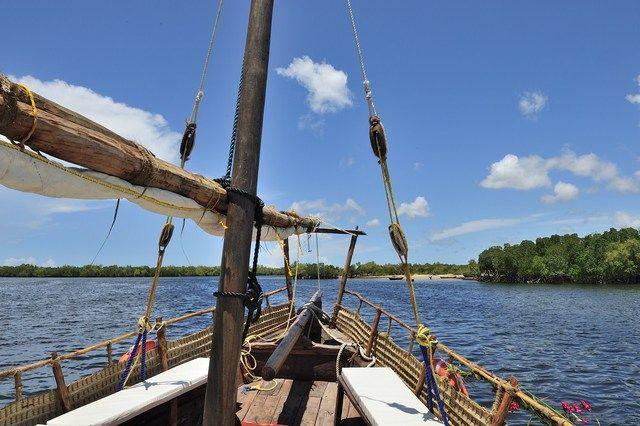 Funzi Island Dans La Mangrove Vers L Ile De Funzy Sur L Ocean Indien Travel Vacation Photos Island Favorite Vacation