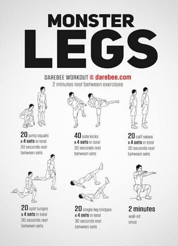 Check leg workout in 2020 leg workouts for men leg