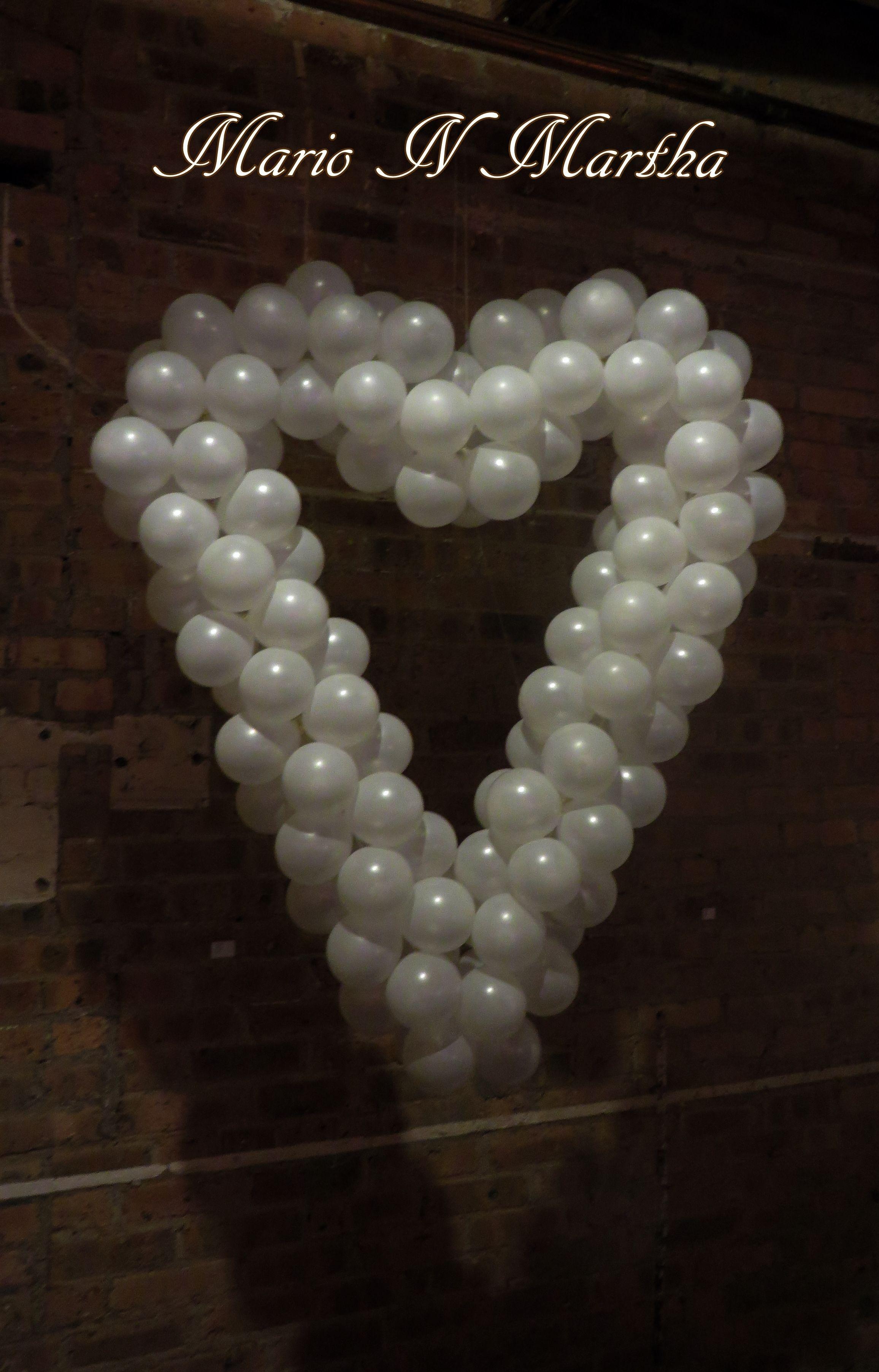 Balloon Heart Sculpture