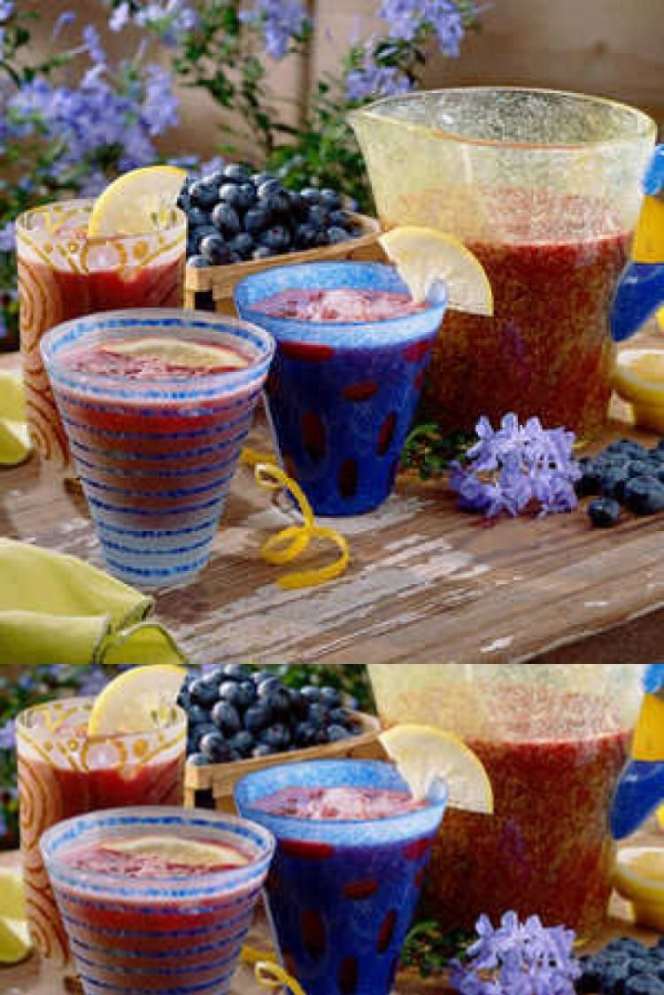 Blueberry lemonade food meal kitchen kitchenaid