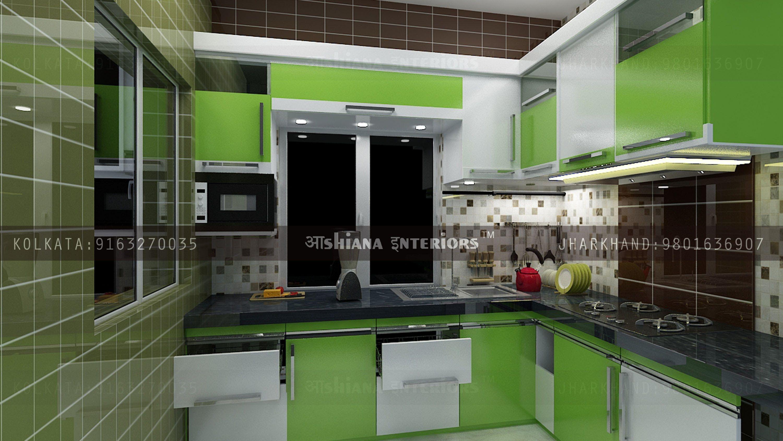 kitchen interior design ideas kolkata  Interior design kitchen