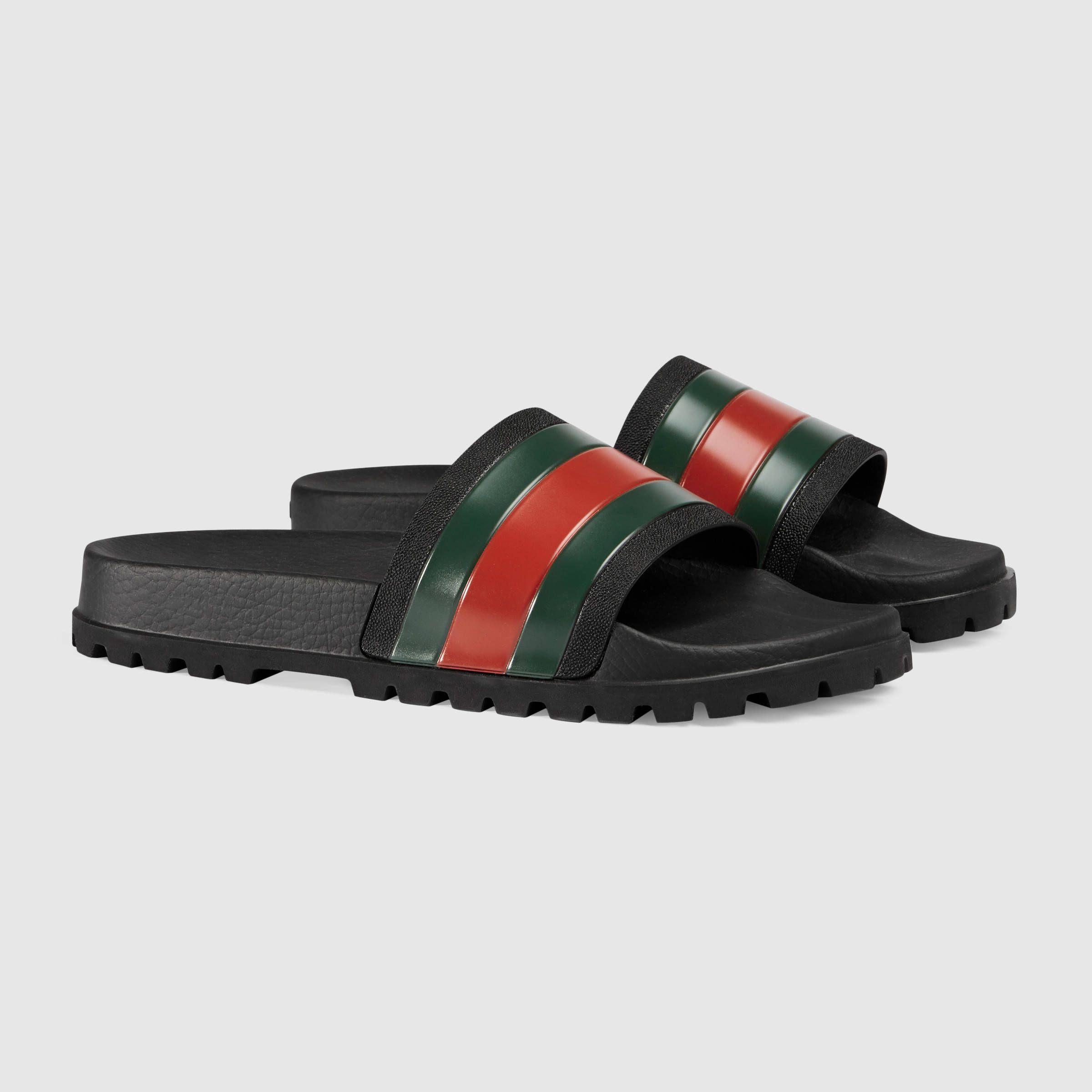 Gucci slipper, Mens sandals, Slide sandals