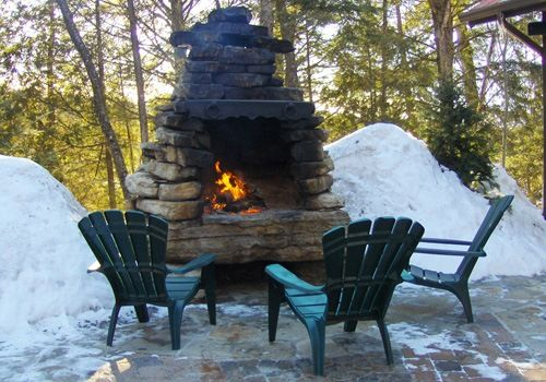 30 Perfect Outdoor Fireplace Pictures Fire Pit Landscaping