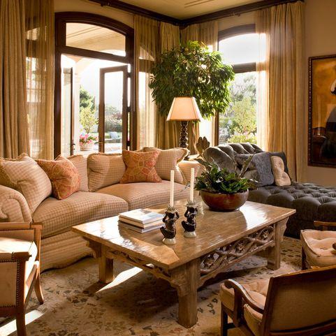 Clic Traditional Residence Family Room Orange County Harte Brownlee Ociates Interior Design
