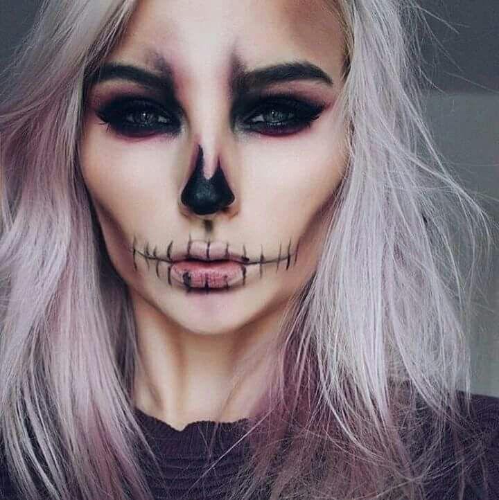 Hallowen Maquillaje hallowen Pinterest Maquillaje, Halloween y