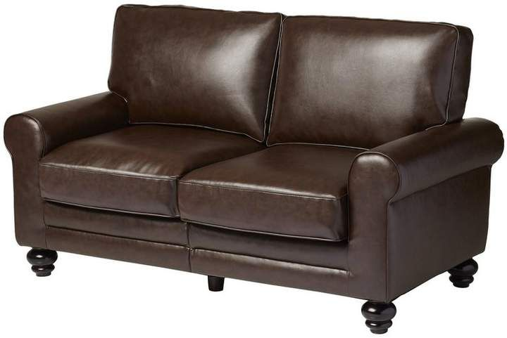Pleasing Three Posts Croydon Loveseat In 2019 Products Leather Andrewgaddart Wooden Chair Designs For Living Room Andrewgaddartcom