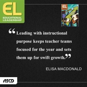 Elisa MacDonald on teacher leadership