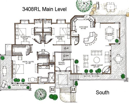 House Plans Green Home Building Plans Bend Or With Images Building Plans House House Plans Simple Floor Plans