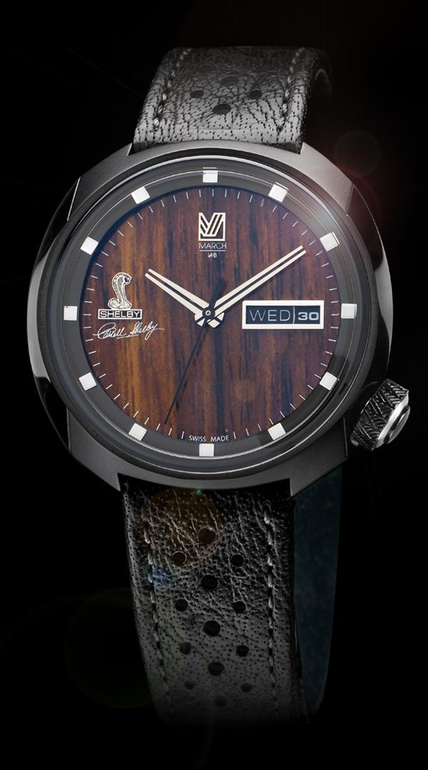Only 200 Shelby timepieces were created in this limited-edition release.