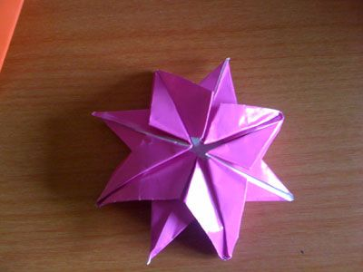 Origami 8-Pointed Star Photos submitted by readers