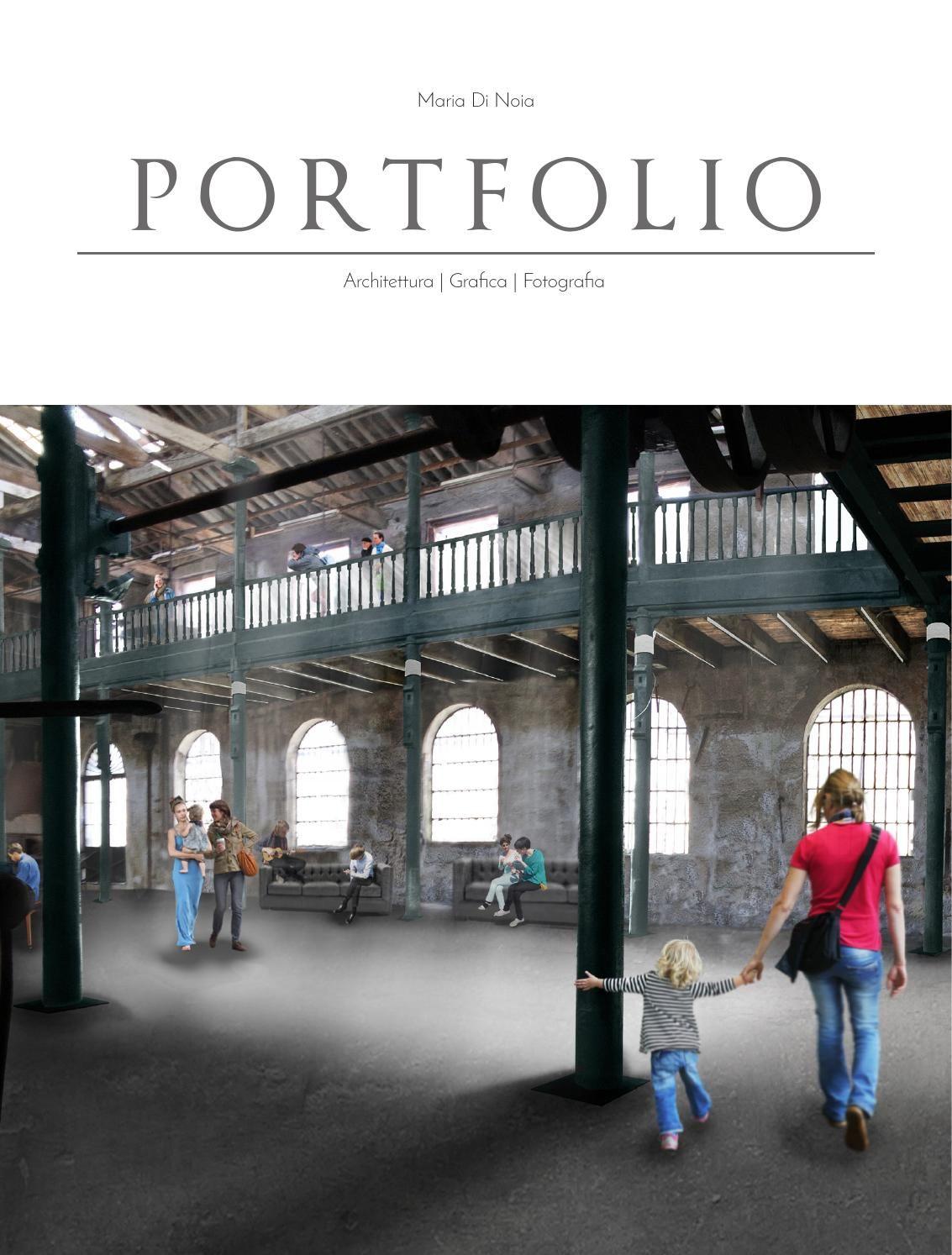 Portfolio Maria Di Noia Architetto  Architecture portfolio 2015