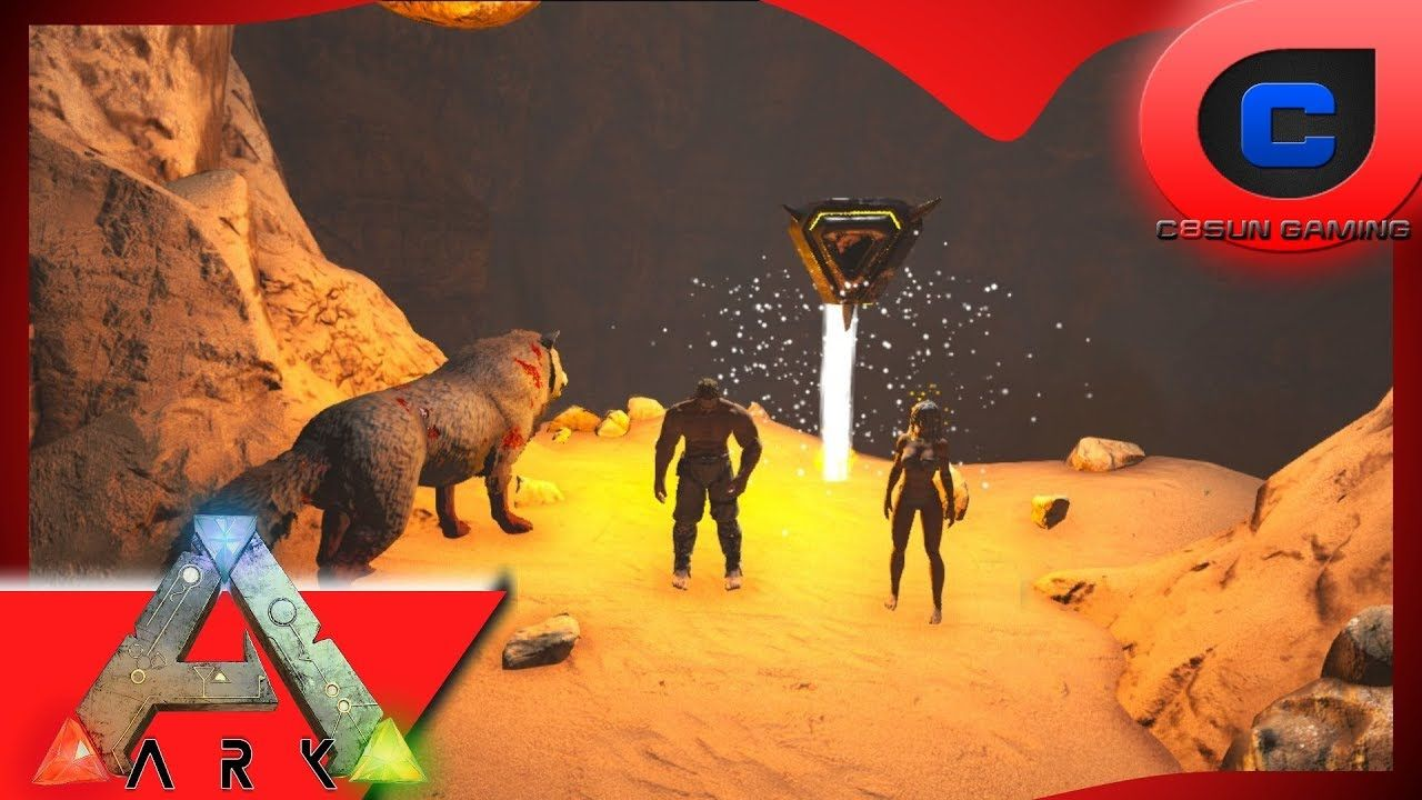 Ark: Modded Scorched Earth - Cave Speed Run Easy Mode | gaming