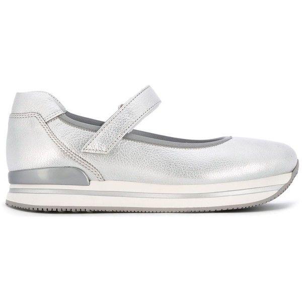 striped platform sneakers - Metallic Hogan 4XobRqsX7g