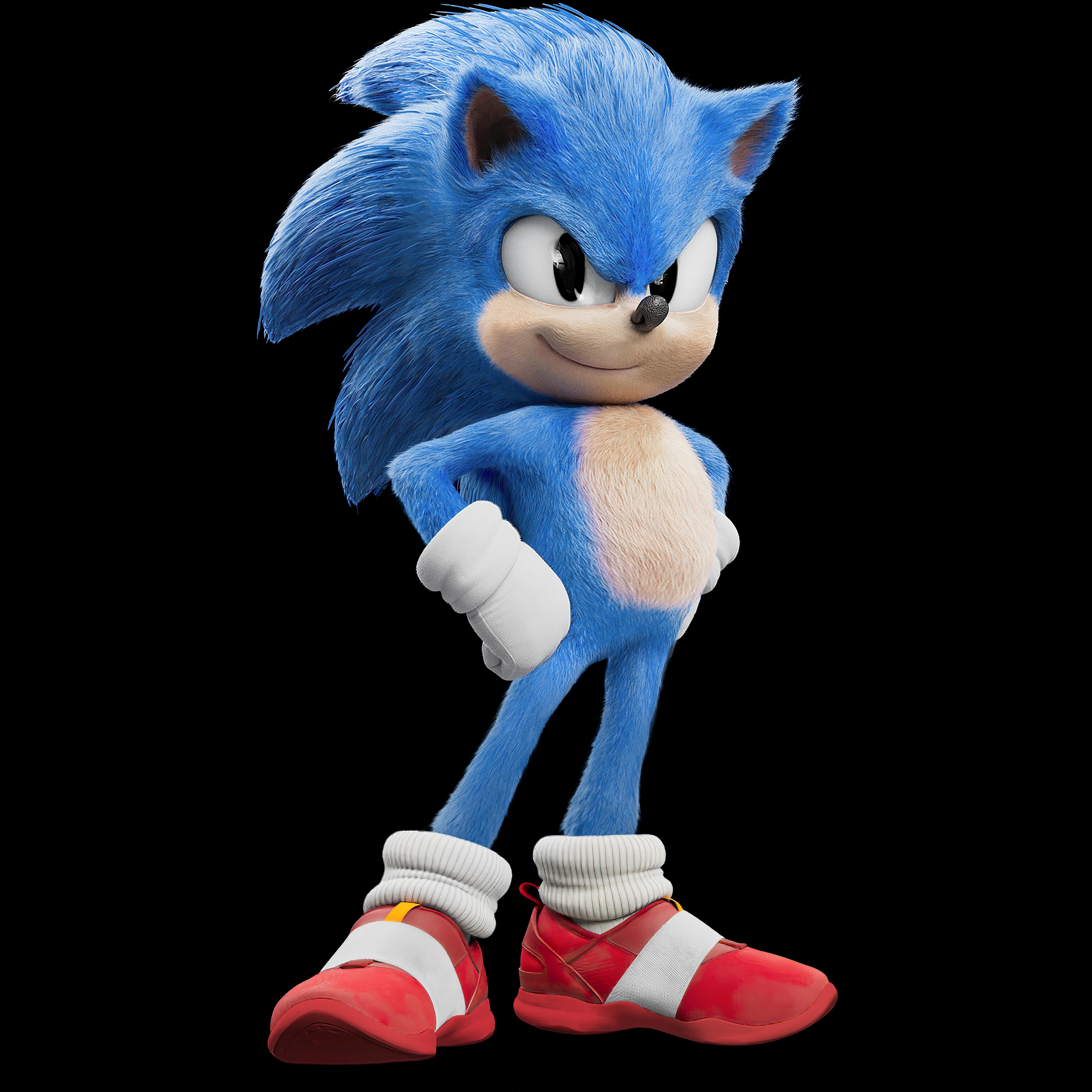 Classic Sonic Sonic The Movie Speededit Sonic The Movie Sonic Hedgehog Movie