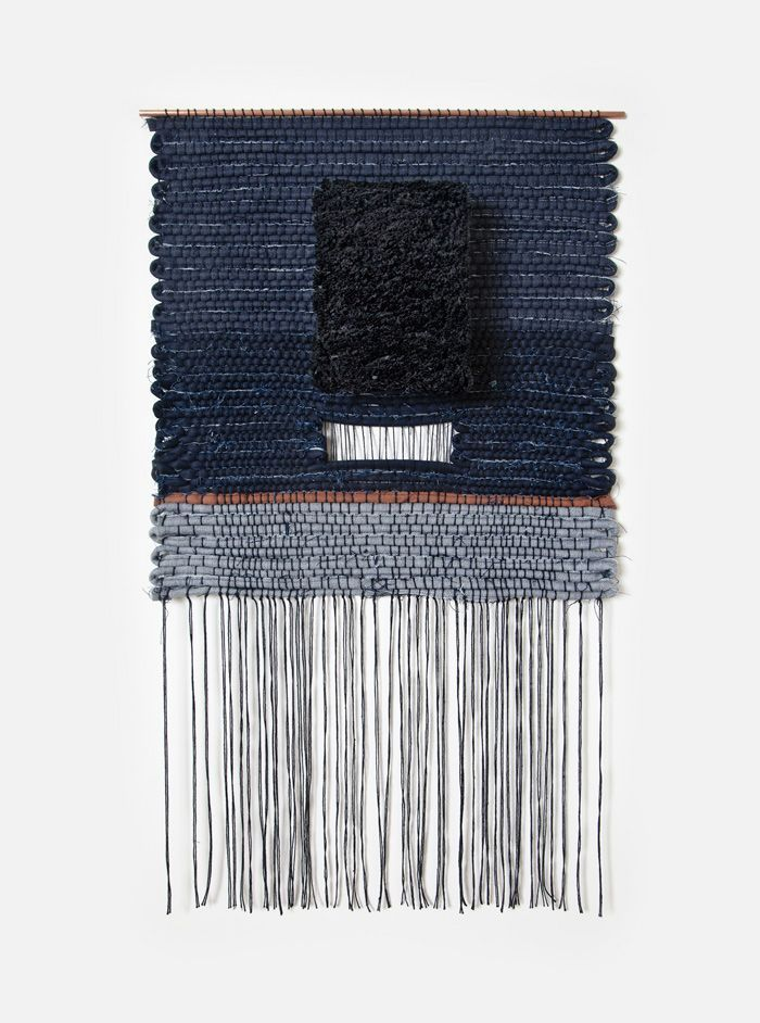 neuboheme:  (via Hand woven by Mimi Jung of Brook & Lyn. Part of a series of … | fi…)