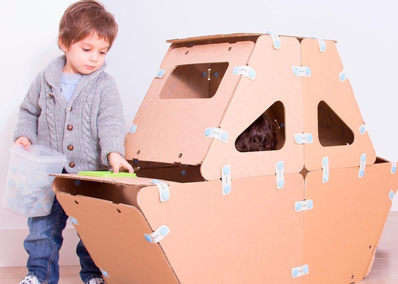 juguetes de cartn para nios y nias de todas las edades para armar figuras