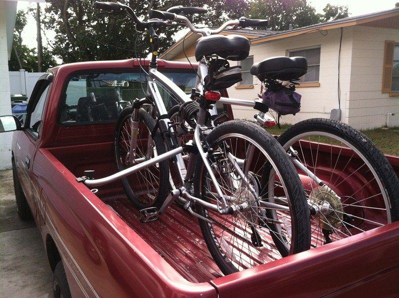 Topline Truck Bed Bike Racks For Your 2016 Nissan Frontier Are