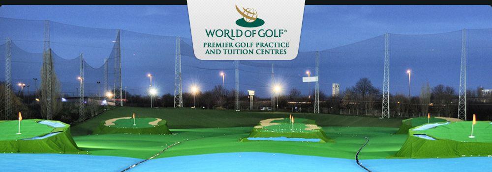 New Malden World of Golf Golf practice, Malden