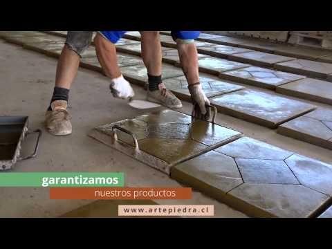 Pastelones Arte Piedra Youtube Stamped Concrete Driveway Concrete Patio Designs Concrete Design