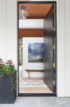 See more luxury entryway lighting inspirations at  luxxu.net