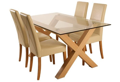Casa Dover Dining Table & 4 Chairs