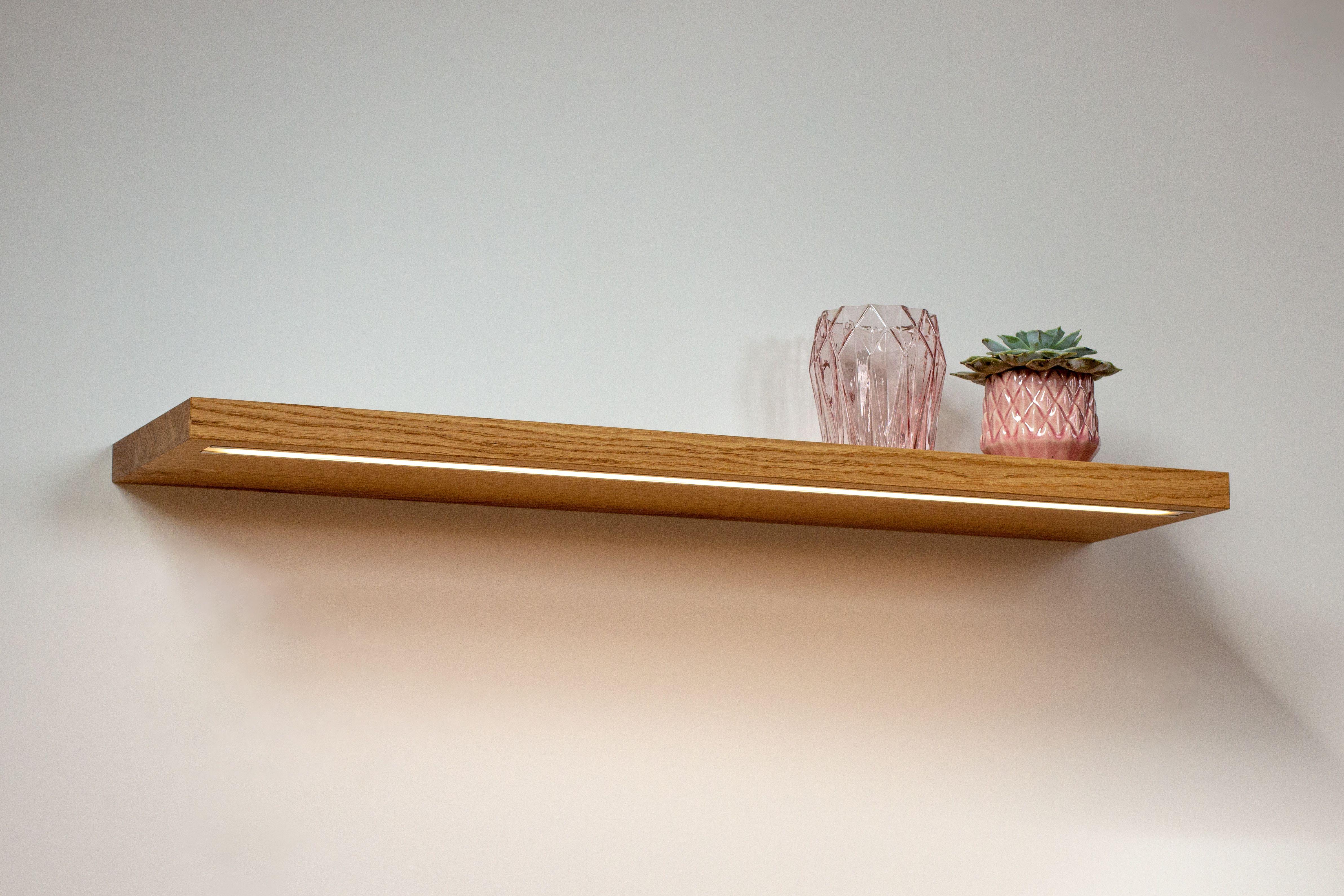 Wandregal Eiche Wall Design Solid Oak Wall Shelves