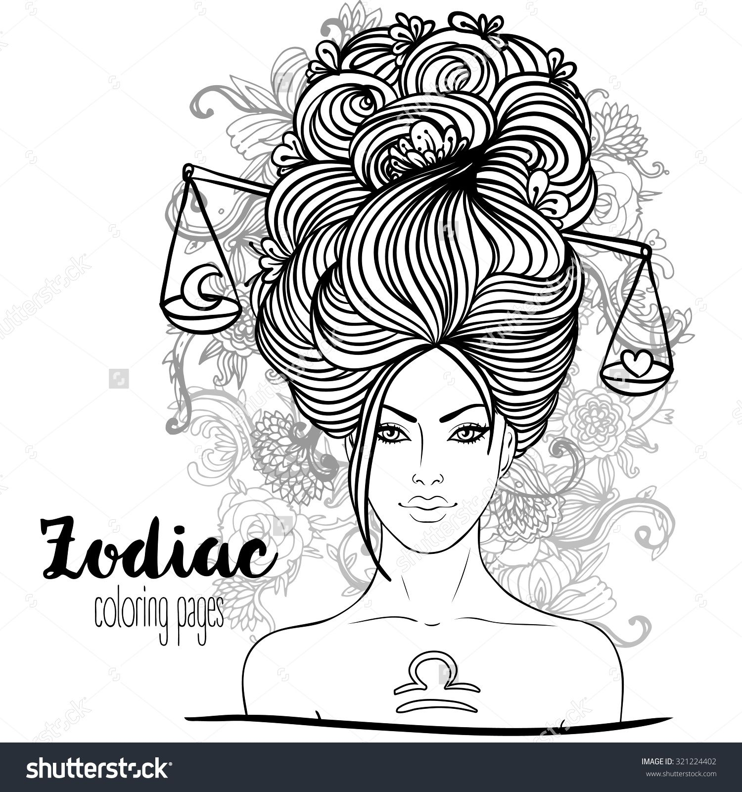 find this pin and more on zodiac coloring pages