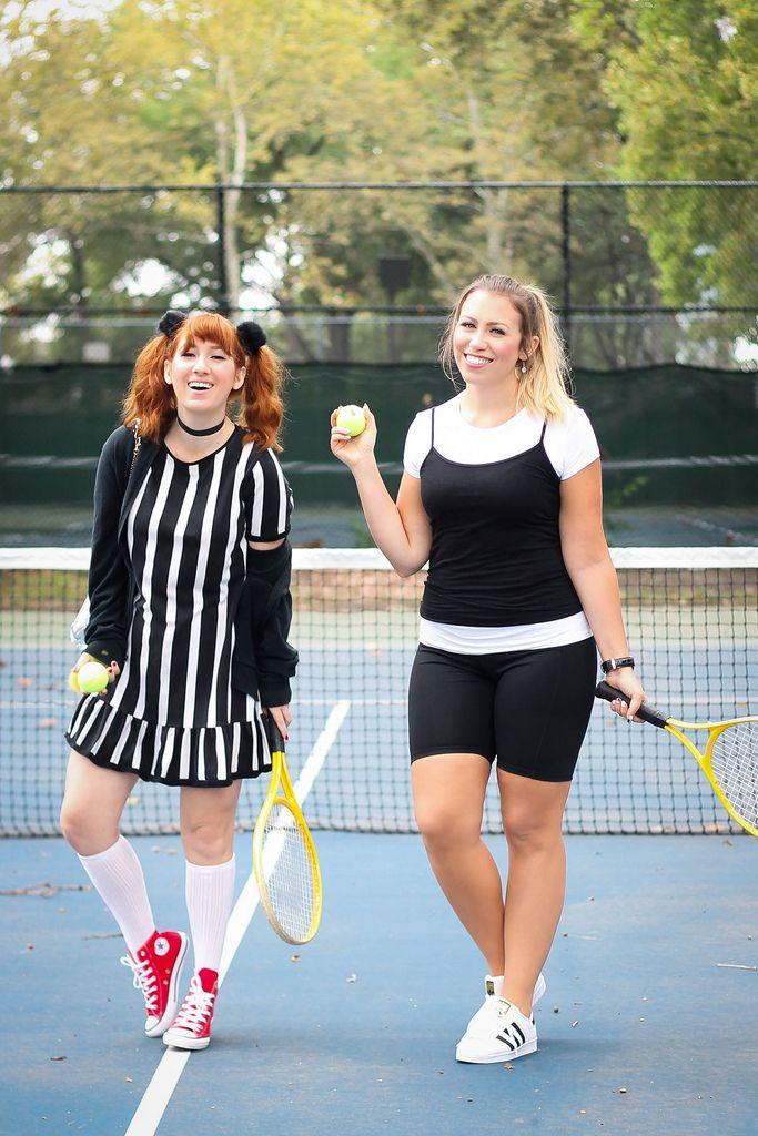 Cher & Amber Clueless Movie Tennis 90s Halloween Costumes ...