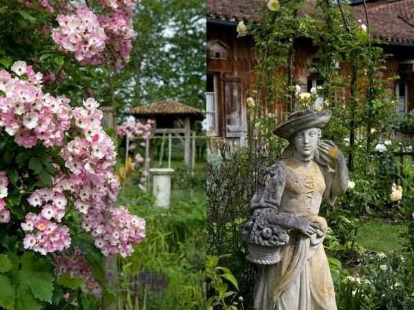 Les Pres d'Eugenie  Michel Guerard --south France-Garden (spa, various rooms, and a simple but enjoyable country restaurant called Fermes aux Grives)