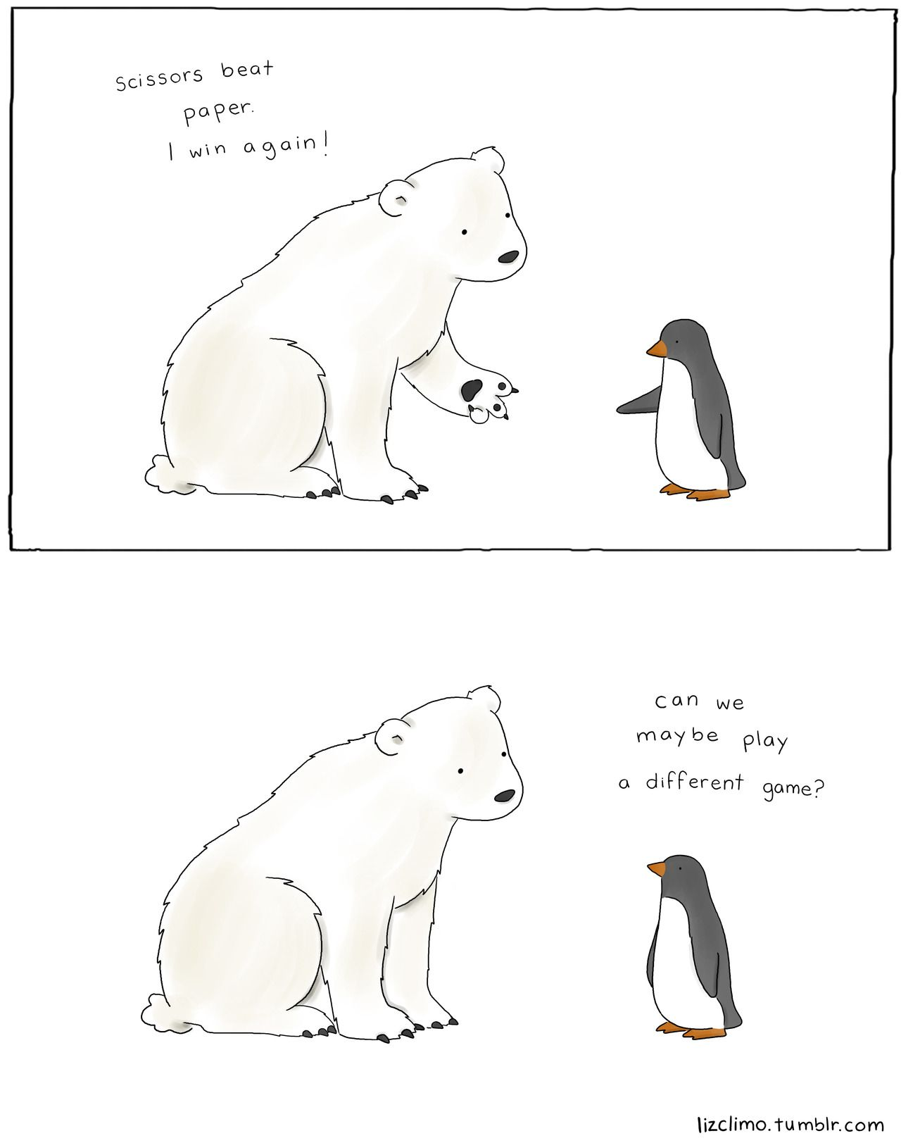 Polar Bear Vs Penguin