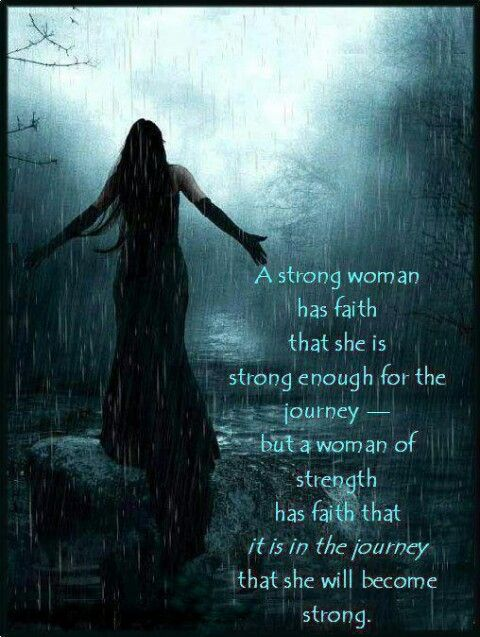 Woman of strength.