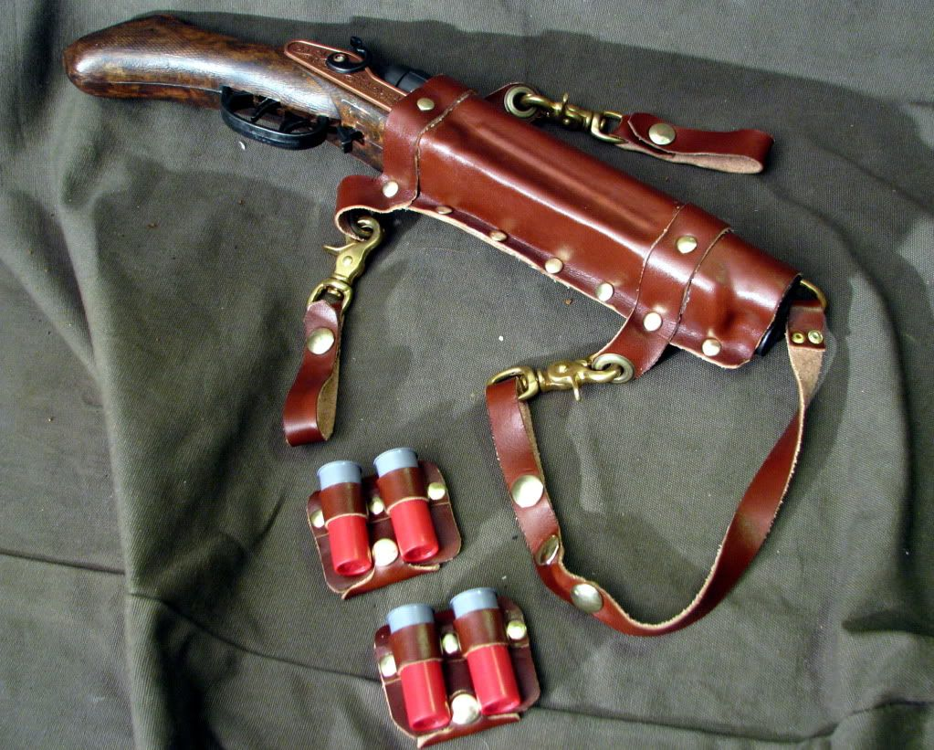 Shotgun Holster Leather Ideas Leather Holster Leather Military