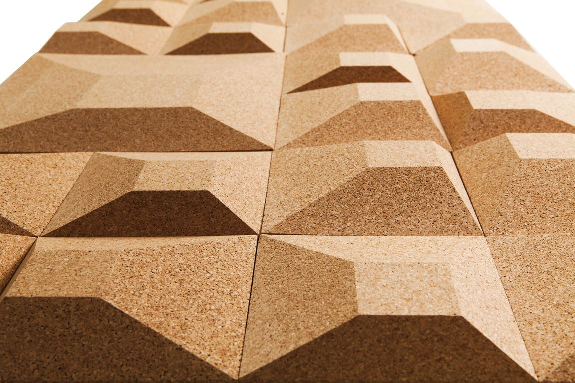 Incredible Building Tile Made Entirely Of Cork Granorte
