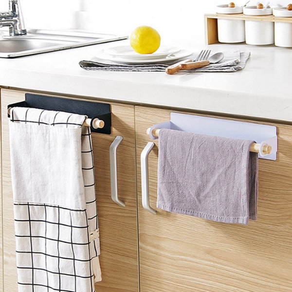 Hanging Towel Bar Hanging Towels Paper Towel Holder Towel Shelf