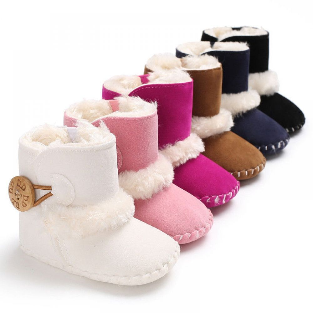 Baby Girl Boy Snow Boots Winter Shoes
