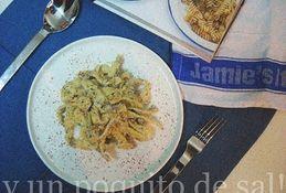 [whole kitchen] pasta fresca: fettuccine pangrattato de Jamie