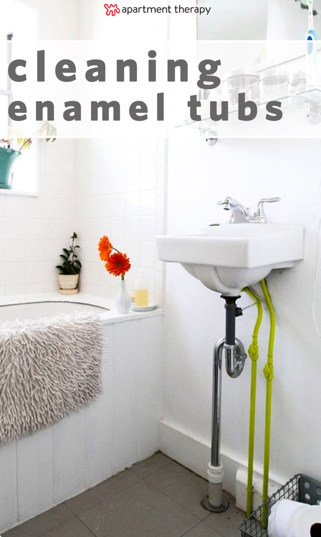 How To Get Your Old Bathtub So Clean, It Looks New | Bathrooms ...