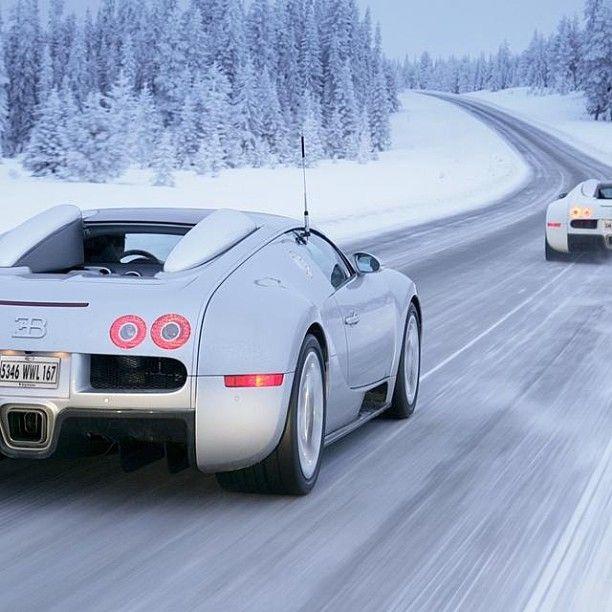 Wicked, White And Wonderful  Bugatti Veyron