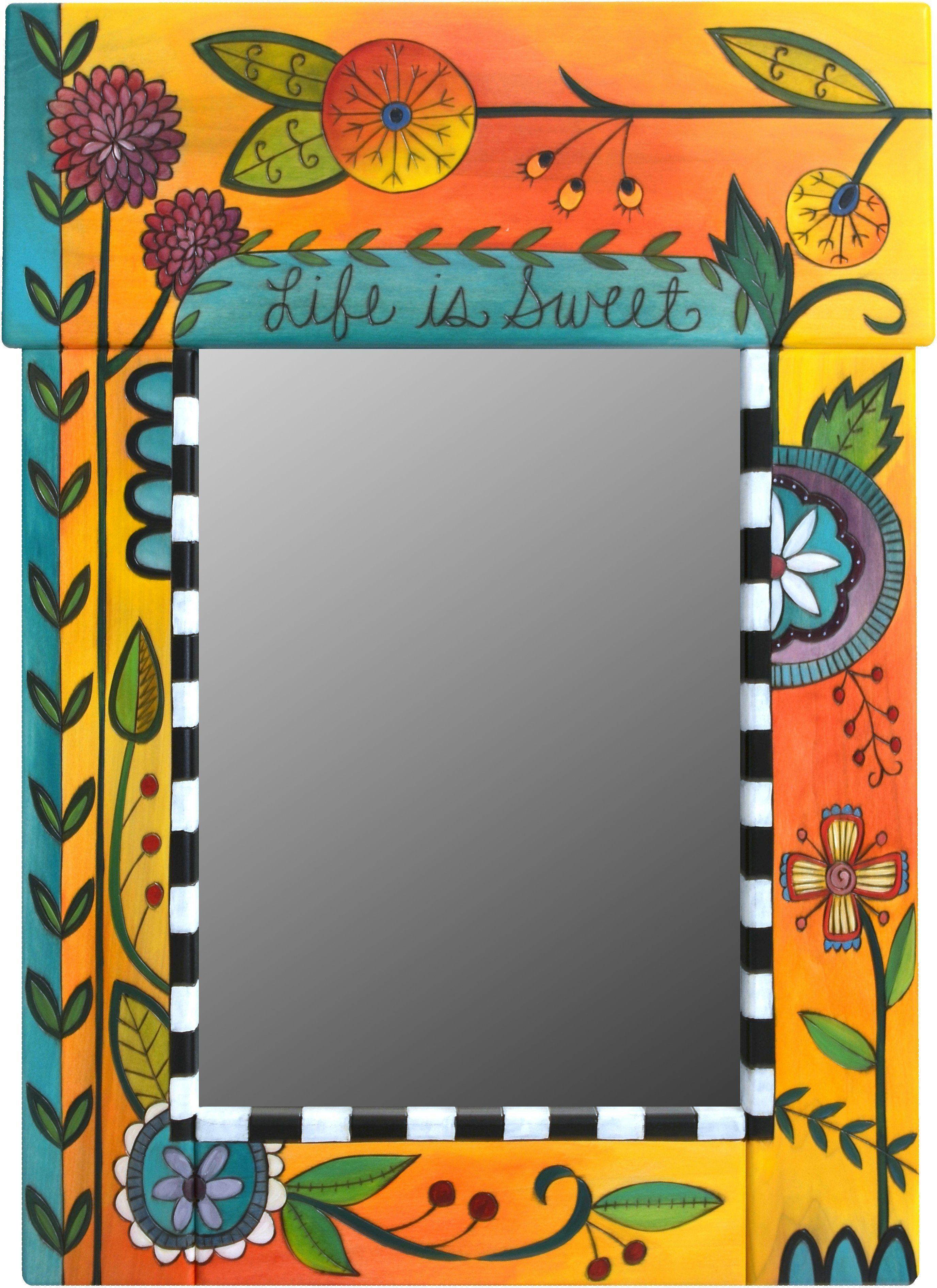 Medium Mirror   Espejo, Pinturas decorativas y Cuadro