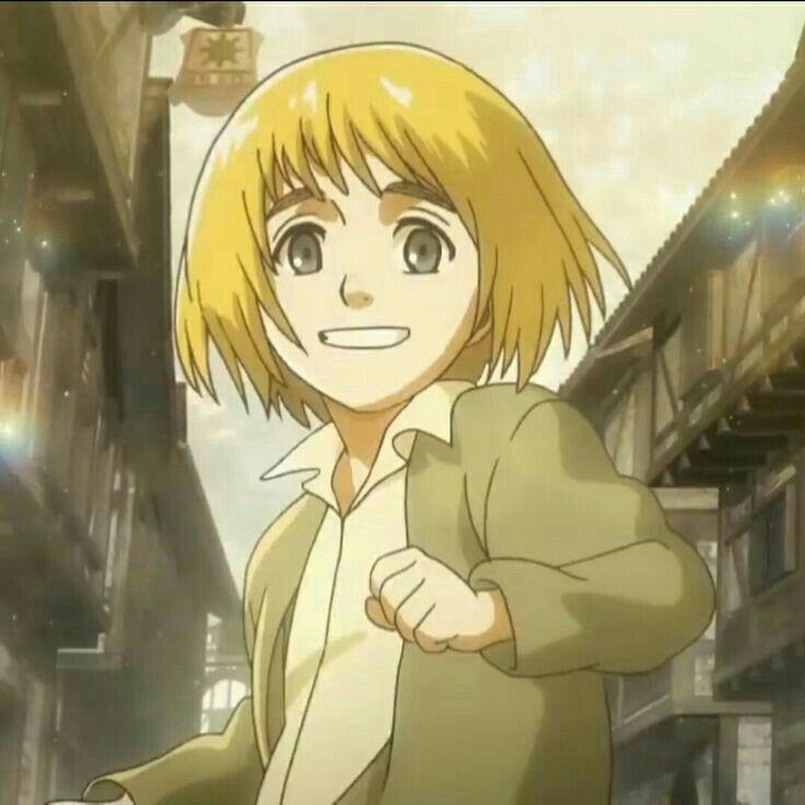 Sweet angel - Armin Arlert | Attack on titan anime, Anime ...