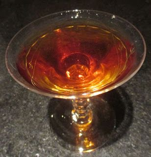 100 Year Old Cigar: dark rum, Cynar, Benedictine, Laphroaig, Angostura bitters