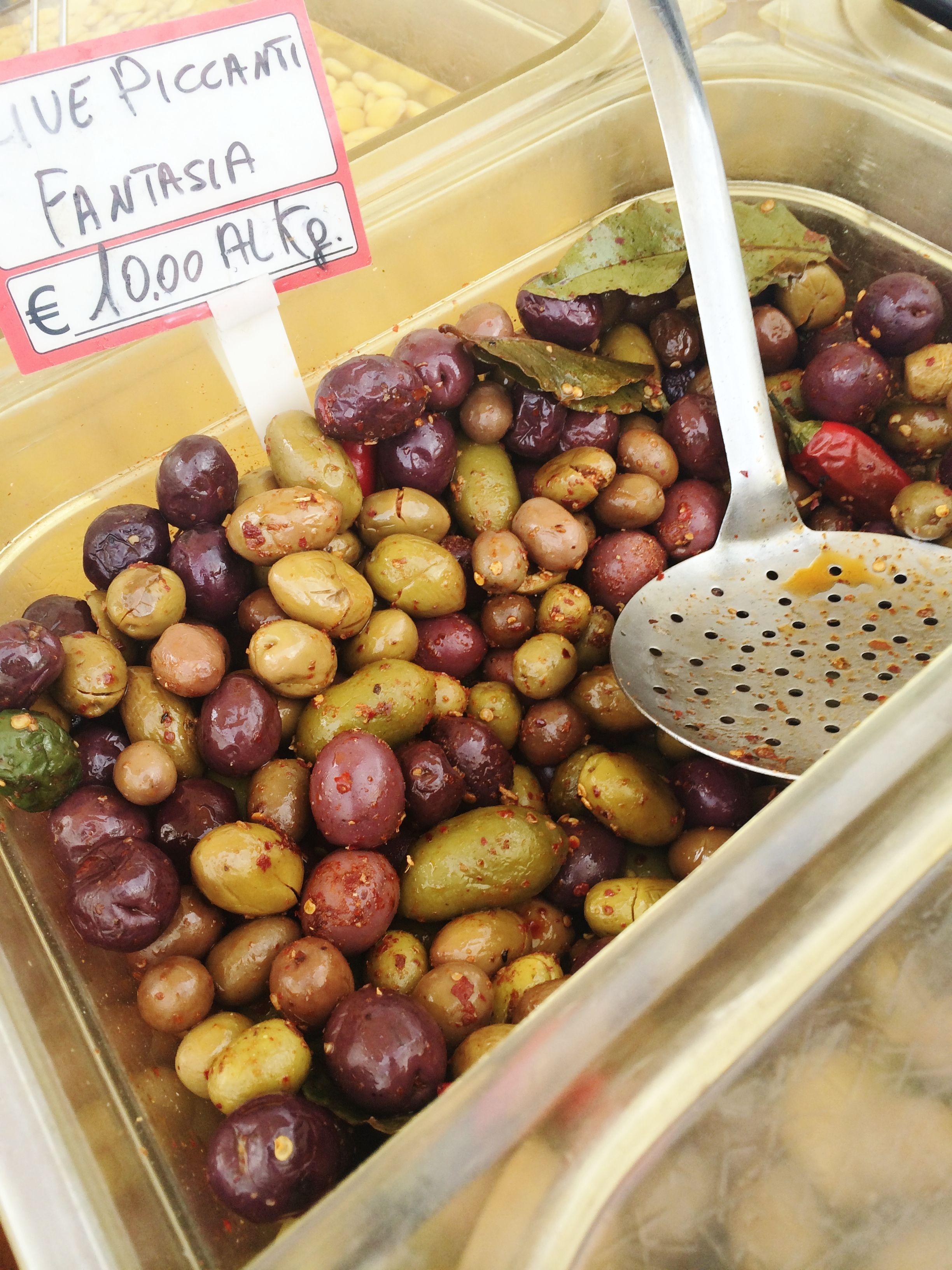 alberobello, puglia, italy // olives in the market | italy ...