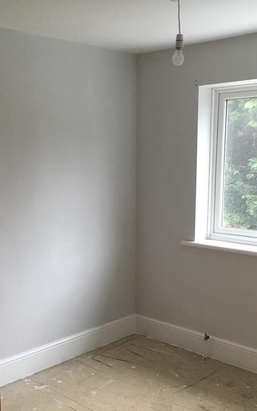 Review photo 1 | Grey paint living room, Living room decor ...