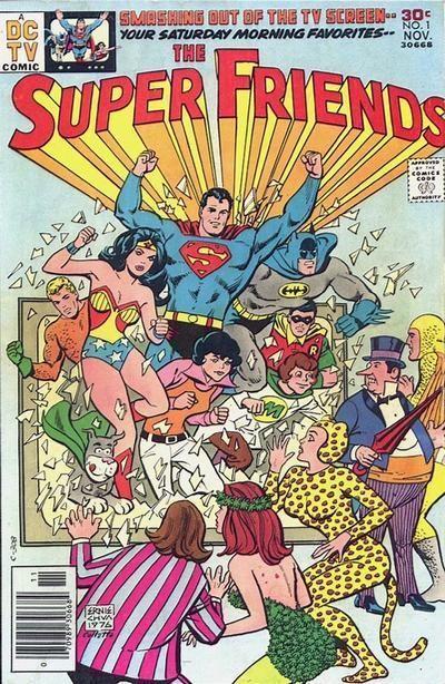 THE SUPER FRIENDS 1 DC COMICS