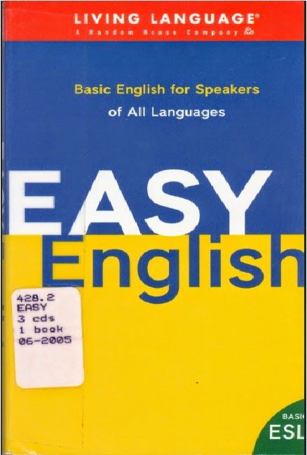 Easy English Basic English For Speakers Of All Languages Bookz Ebookz English Grammar Book Grammar Book Pdf Grammar Book