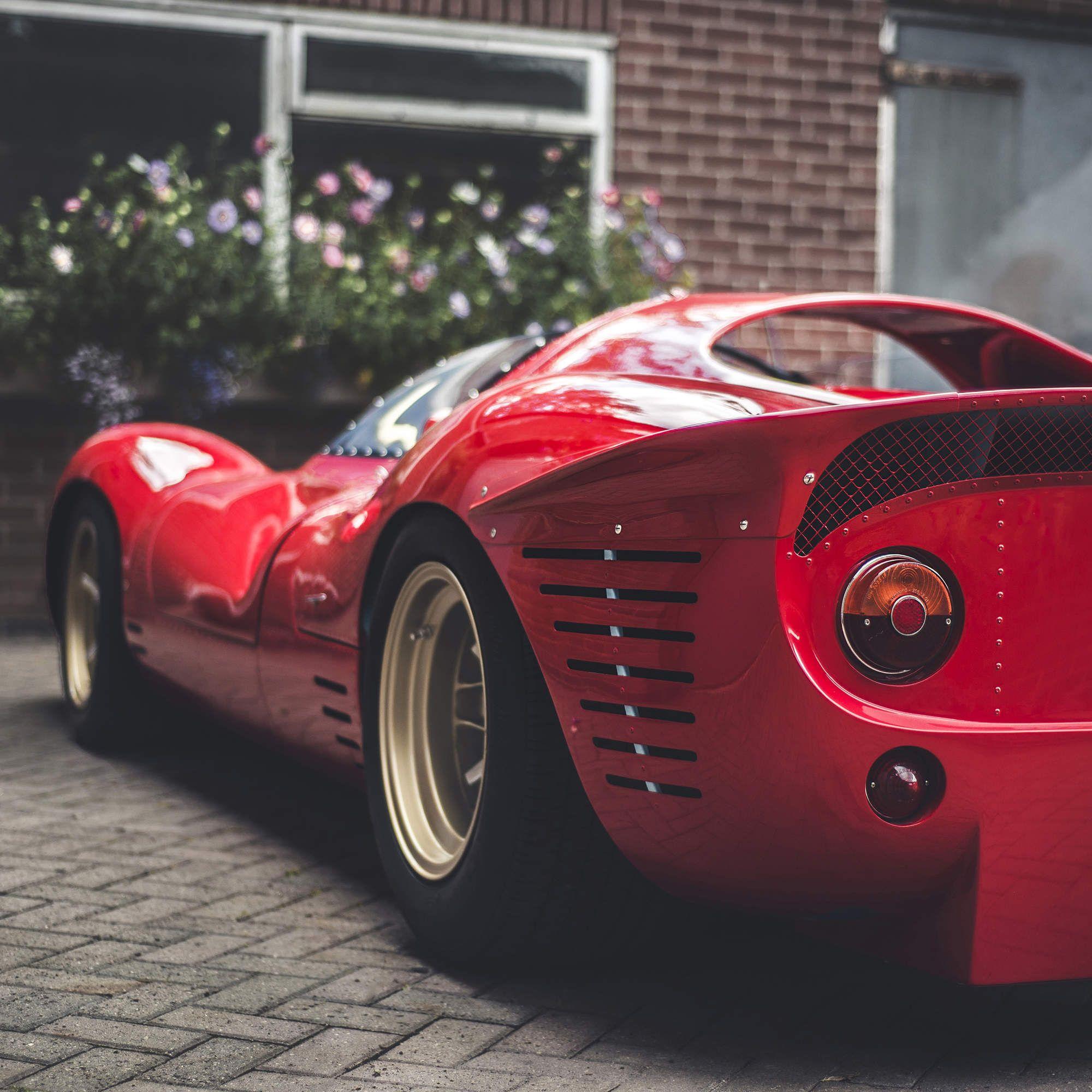 15 Glorious Photos Of The Legendary Ferrari P4