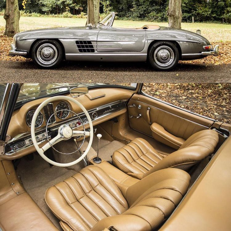 Mercedes Benz 300sl Roadster With Images Classic Mercedes Bmw